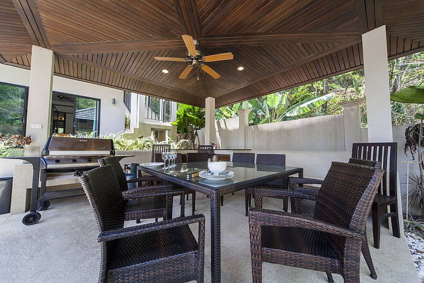 BBQ Al Fresco Dining Area-Ploi Attitaya_6 bedroom villa_Private Pool_Nai Harn_Rawai_Phuket_Thailand