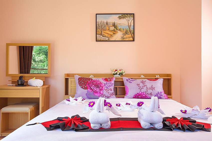 1 bedroom with kingsize bed Wan Hyud Apartment No.12 Koh Samui