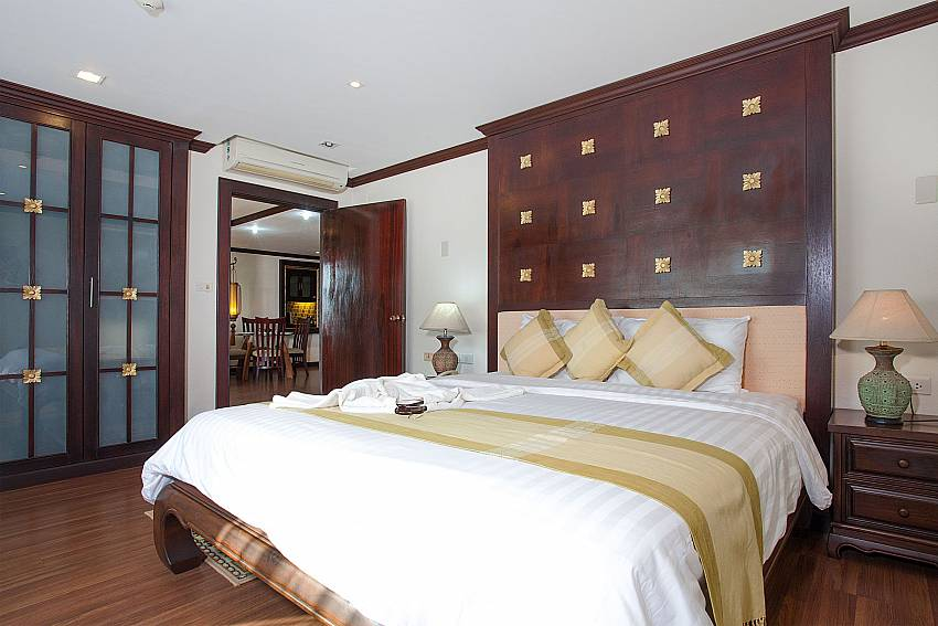 Double bedroom at Nirvana Apartment No.603 in Jomtien Pattaya Thailand
