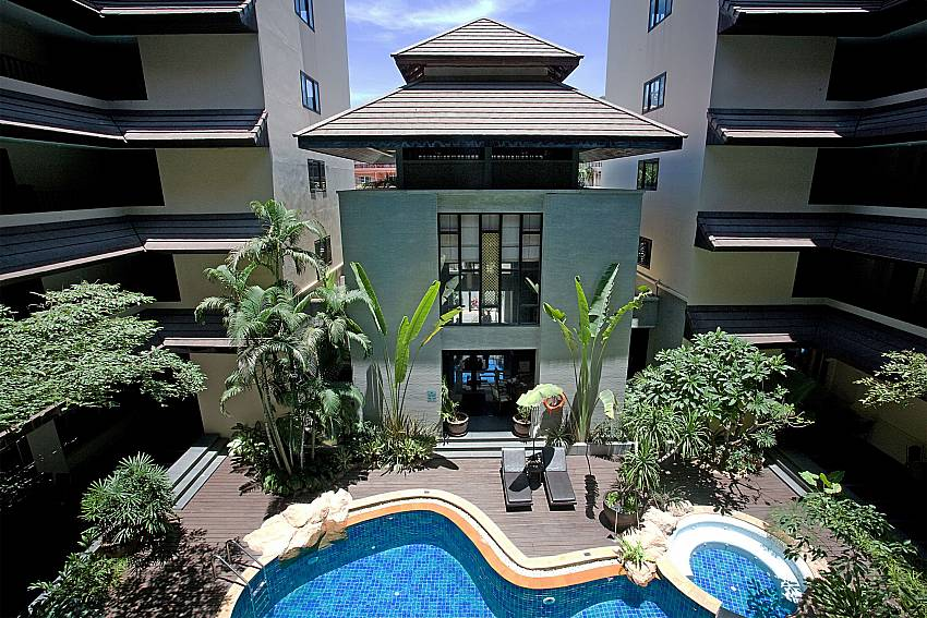 2 bedroom Nirvana Apartment No.603 in Jomtien South Pattaya