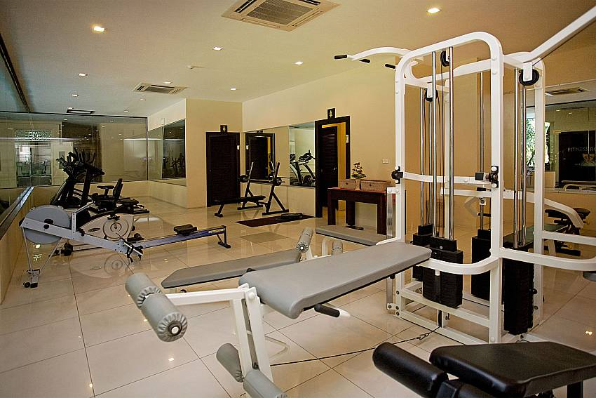 Gym at Nirvana Place condo with Nirvana Apartment No.603 Jomtien Pattaya