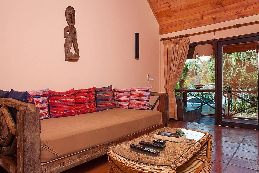 Living areNatures Oasis Resort No.9 in Bang Bao Koh Chang