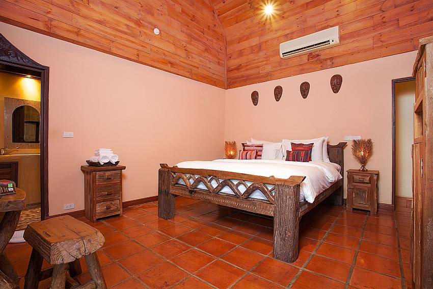 Bedroom Natures Oasis Resort No.9 in Bang Bao Koh Chang