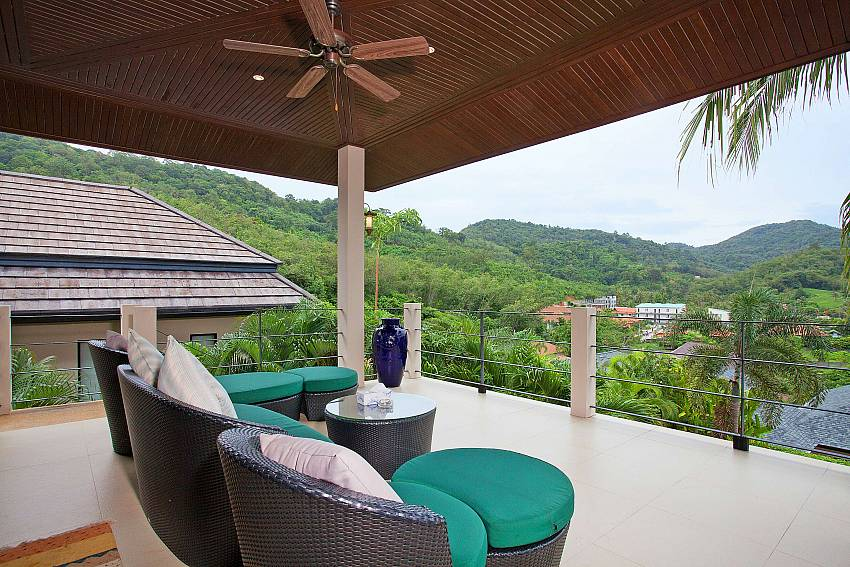 Relax in style at Morakot Villa above Nai Harn beach in South Phuket
