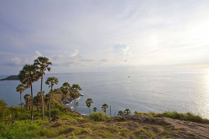 Attractive sea view from nearby places at Morakot Villa in South Phuket