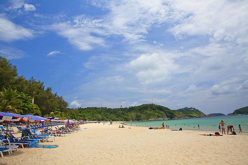 Nai Narn beach close to Morakot Villa in South Phuket