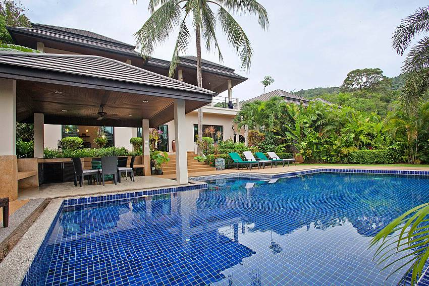 Full of privacy at your own pool area in Morakot Villa South Phuket