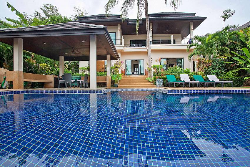 Thai Sala next to Pool-Morakot Villa_6 Bedroom_Private Pool Villa_Nai Harn_Phuket_Thailand