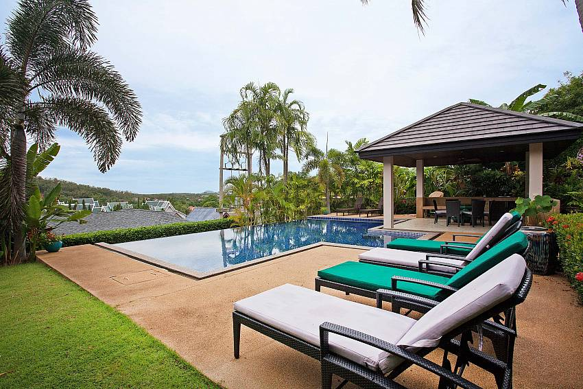 A view over paradise-Morakot Villa_6 Bedroom_Private Pool Villa_Nai Harn_Phuket_Thailand