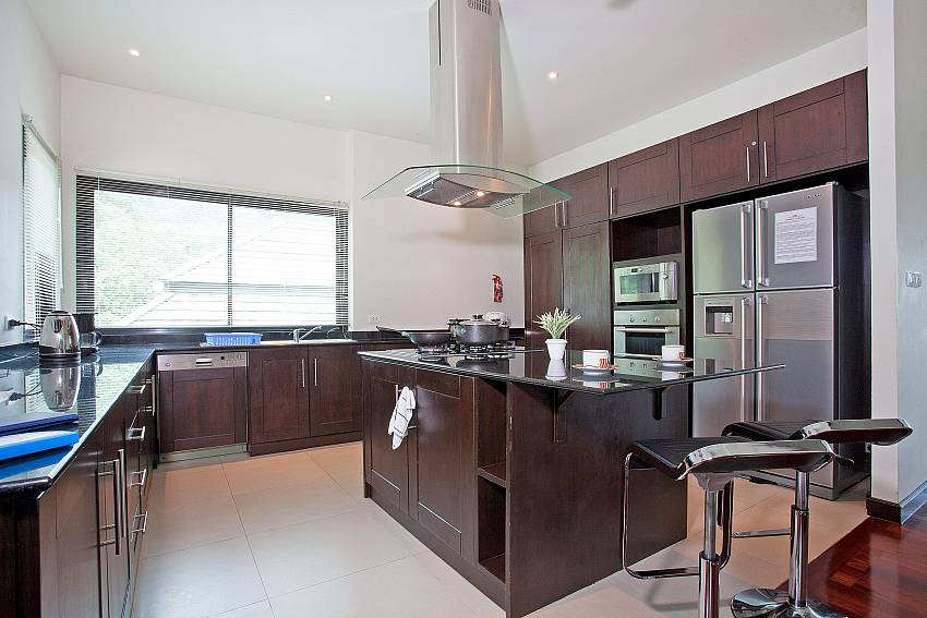 Professional Kitchen-Morakot Villa_6 Bedroom_Private Pool Villa_Nai Harn_Phuket_Thailand
