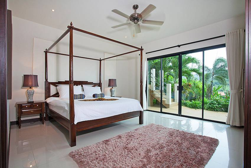 Master Bedroom Downstairs-Morakot Villa_6 Bedroom_Private Pool Villa_Nai Harn_Phuket_Thailand