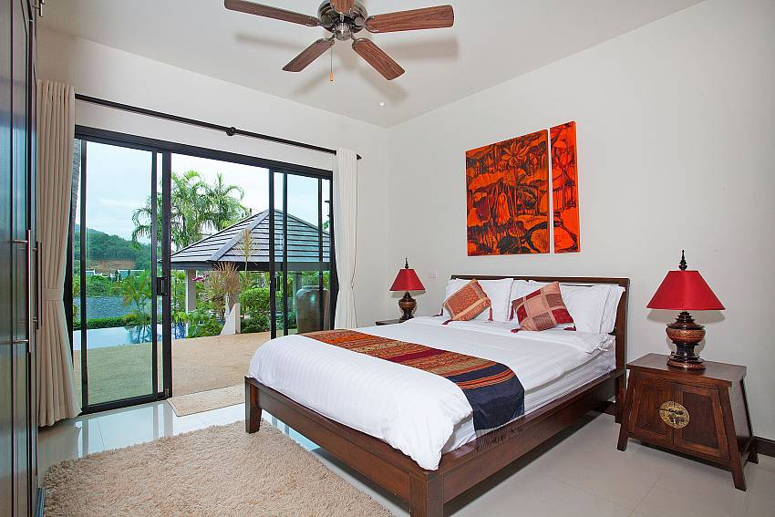 Second Downstairs Bedroom-Morakot Villa_6 Bedroom_Private Pool Villa_Nai Harn_Phuket_Thailand