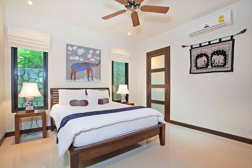 Third Downstairs Bedroom-Morakot Villa_6 Bedroom_Private Pool Villa_Nai Harn_Phuket_Thailand