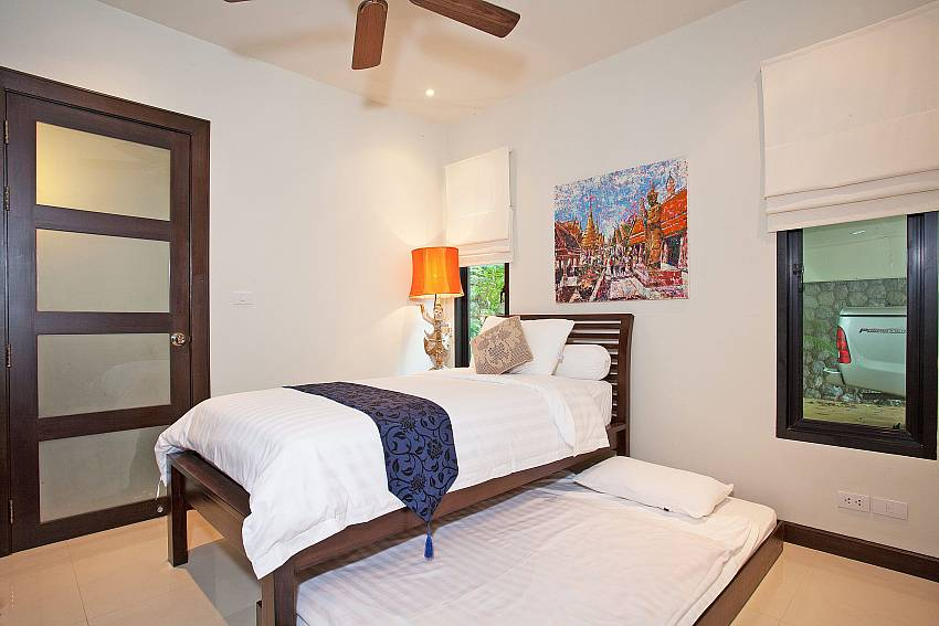 Childrens Bedroom Downstairs-Morakot Villa_6 Bedroom_Private Pool Villa_Nai Harn_Phuket_Thailand