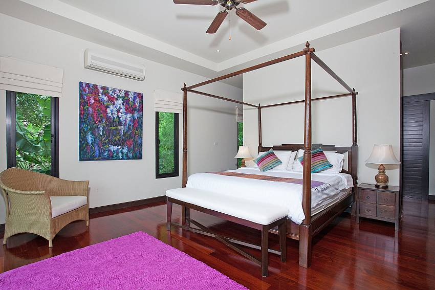 Master Bedroom Upstairs-Morakot Villa_6 Bedroom_Private Pool Villa_Nai Harn_Phuket_Thailand