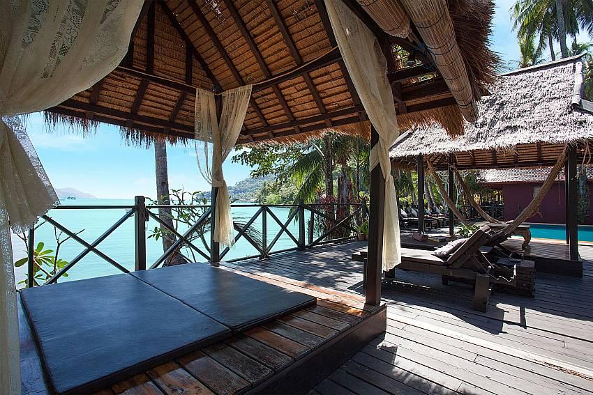 Pavilion with sea view Natures Oasis Resort No.5 at Bang Bao Koh Chang