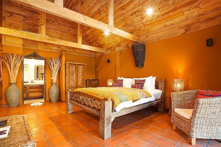 Bedroom Natures Oasis Resort No.5 at Bang Bao Koh Chang