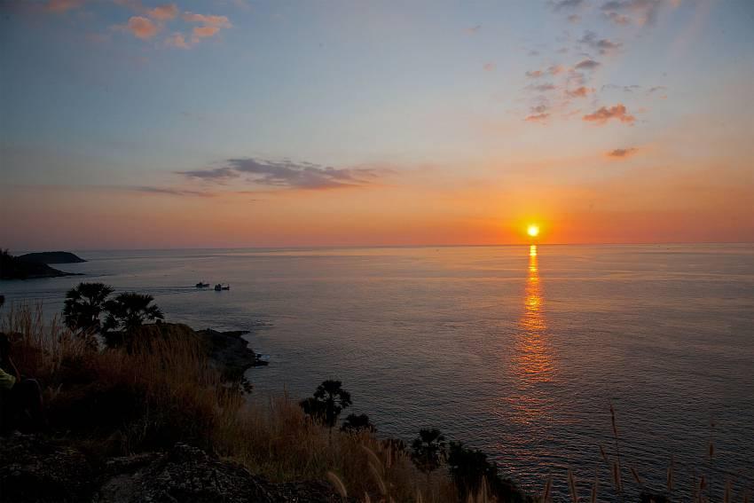 Admire fantastic sunsets near Ploi Jantra Villa in Nai Harn Phuket