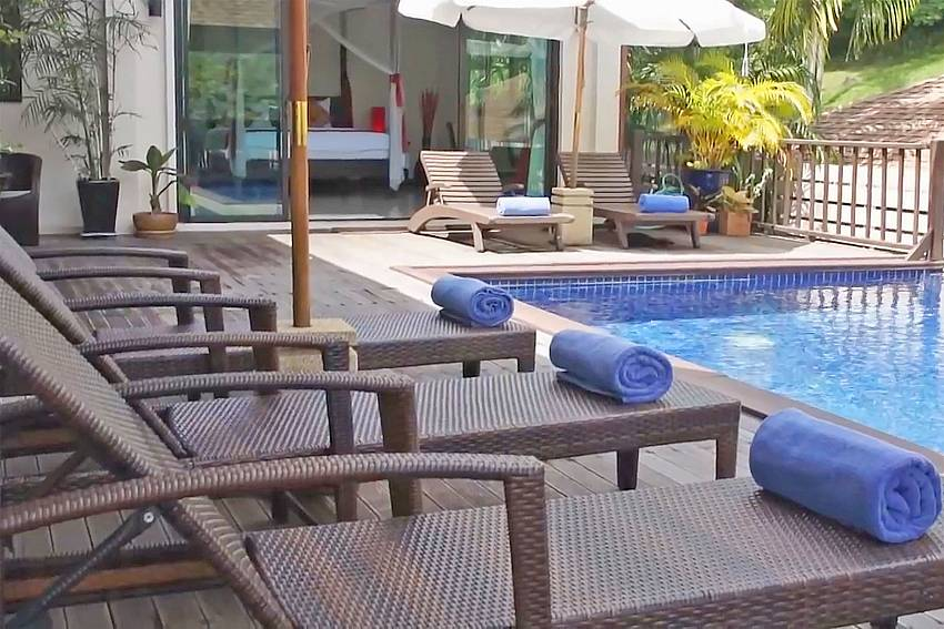 Ploi Jantra Villa is a great family rental in Nai Harn South Phuket