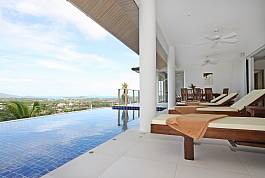 5br infinity Pool Villa With Stunning View in Nai Harn Phuket