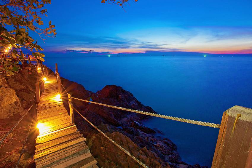 Sea view Natures Oasis Resort No.7B in Bang Bao Koh Chang