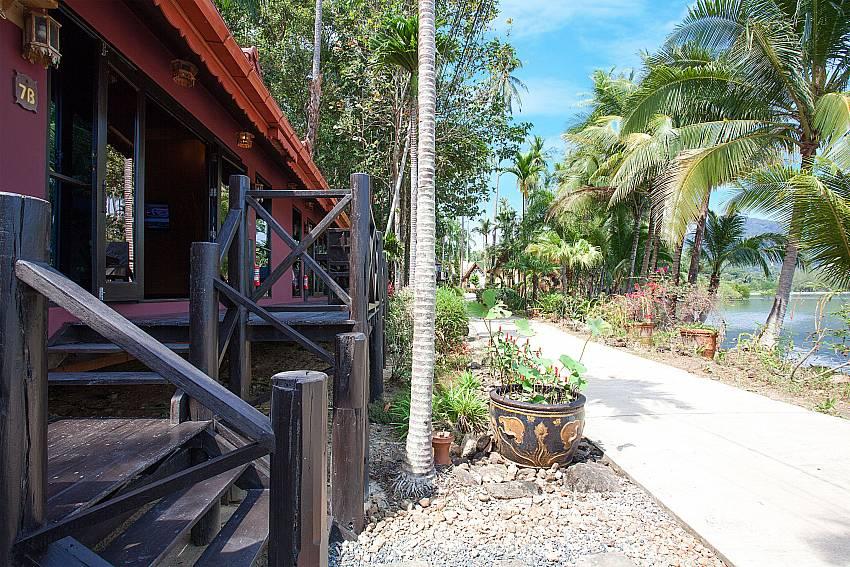 Property Natures Oasis Resort No.7B in Bang Bao Koh Chang