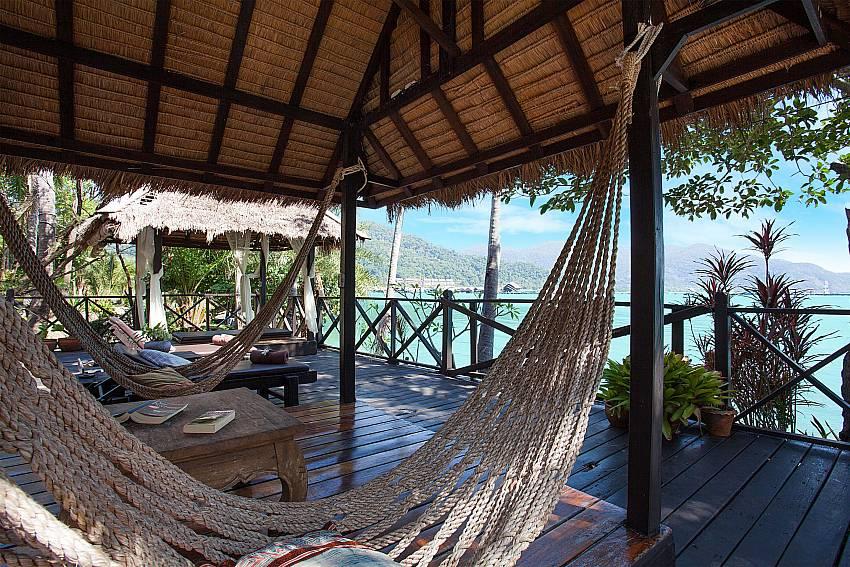Pavilion with sea view Natures Oasis Resort No.8A at Bang Bao Koh Chang