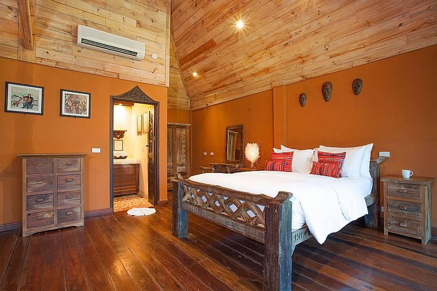 Bedroom Natures Oasis Resort No.8A at Bang Bao Koh Chang
