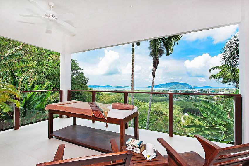 Another place for relax and take in the great view at Villa Alangkarn Andaman South Phuket