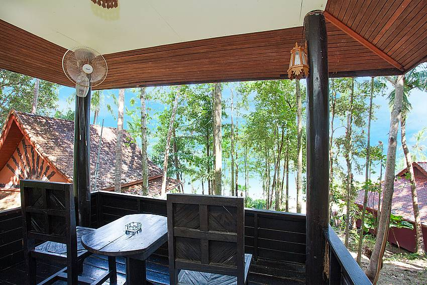 Seat area Natures Oasis Resort No.10B in South Koh Chang