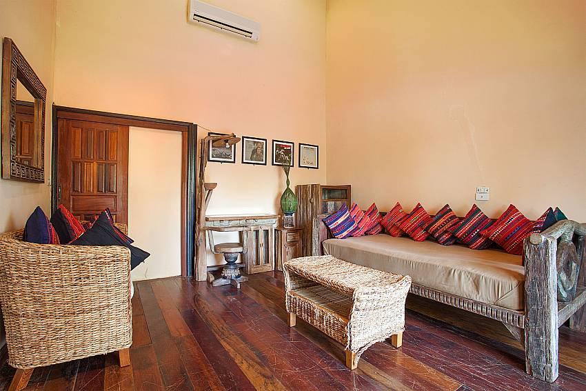 living room Bathroom Natures Oasis Resort No.10B in South Koh Chang