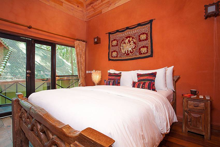 Bedroom Natures Oasis Resort No.11A in Southern Koh Chang