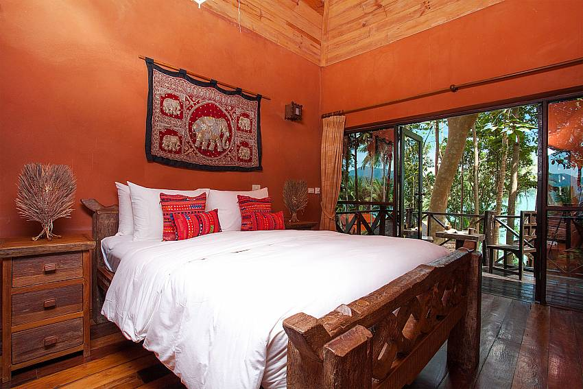 Bedroom Natures Oasis Resort No.11B in South Koh Chang