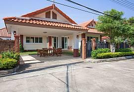 Timberland Lanna Villa 301 | 3 Bed Modern Home Bangsaray Pattaya
