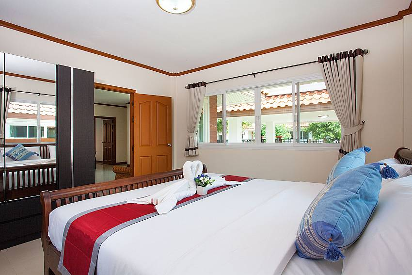 Bedroom Timberland Lanna Villa 301 in Bangsaray Pattaya