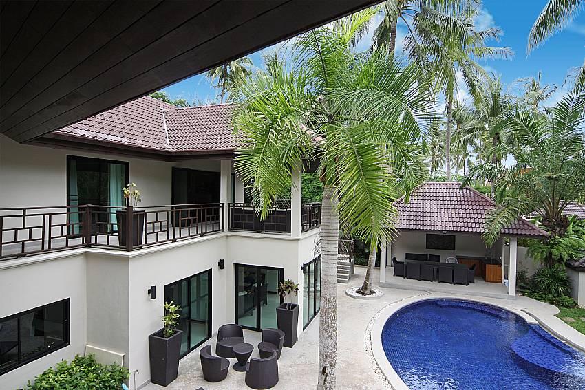 2 storey 5 bedroom luxury villa Narumon in South Phuket