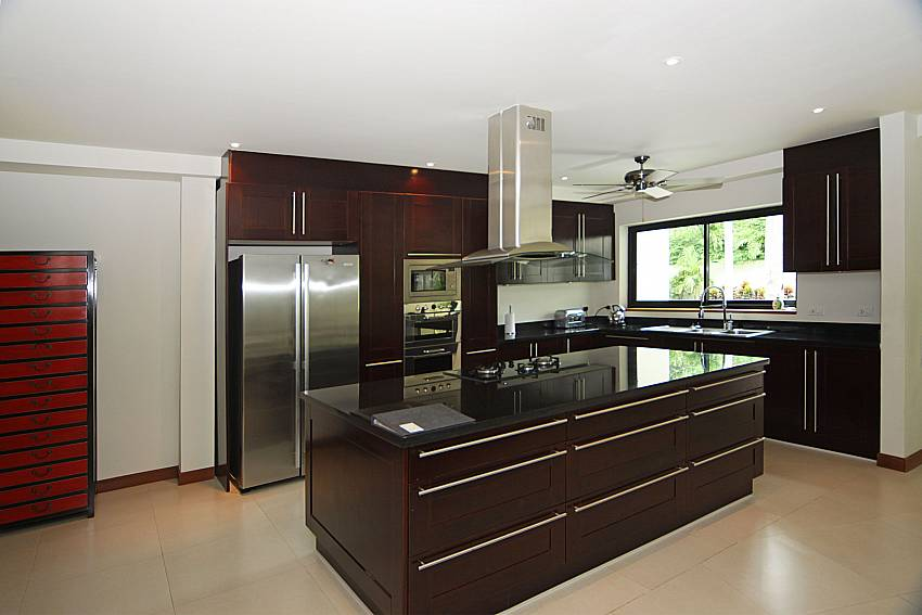 Exquisite appliances in the kitchen of Narumon villa South Phuket