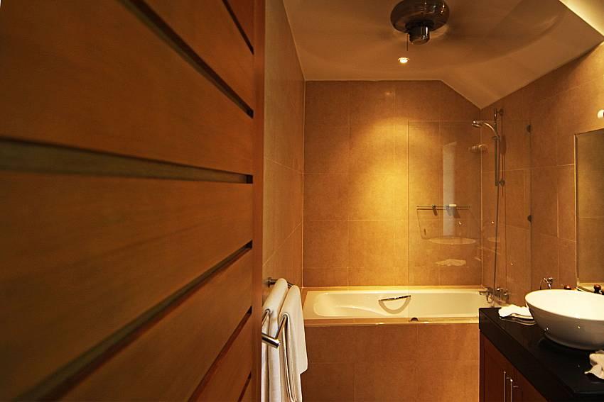 Bath tub in one of the bathrooms at Narumon Nai Harn South Phuket