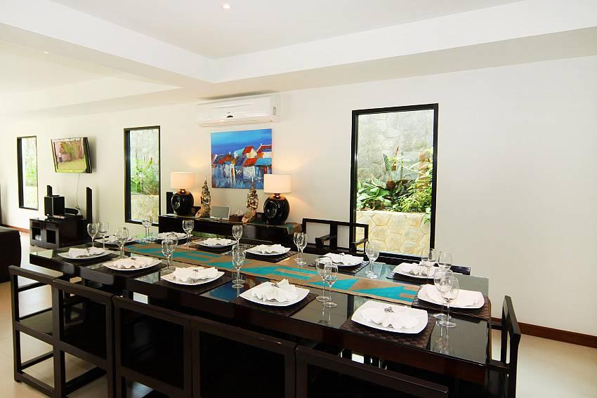 12 Seat Dining Table-narumon-villa_5-bedroom_serviced-pool-villa_nai-harn_phuket_thailand