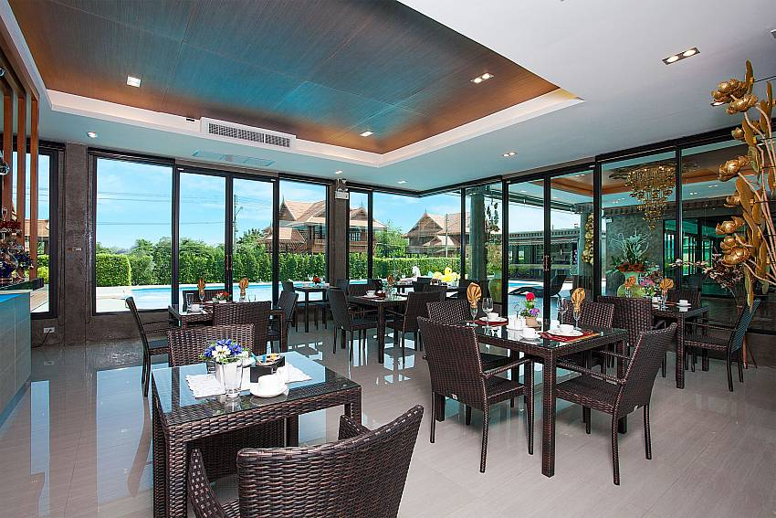 Club house Timberland Lanna Villa 303 in Bangsaray Pattaya