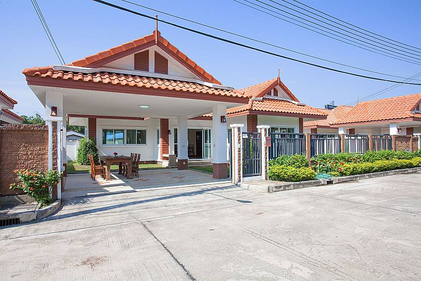 Front of property Timberland Lanna Villa 303 in Bangsaray Pattaya