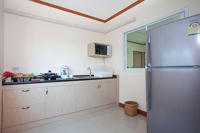 Kitchen Timberland Lanna Villa 303 in Bangsaray Pattaya