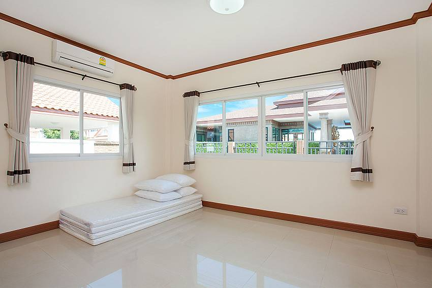 Bedroom Timberland Lanna Villa 303 in Bangsaray Pattaya