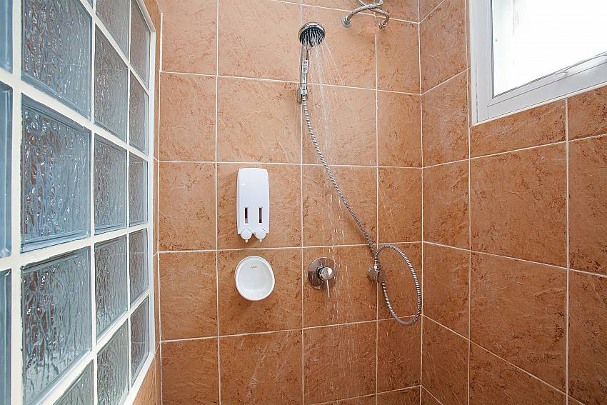 Shower Timberland Lanna Villa 304 in Bangsaray Pattaya