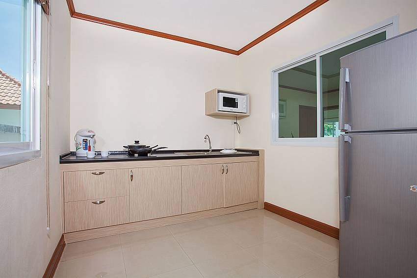 Kitchen Timberland Lanna Villa 305 in Bangsaray Pattaya