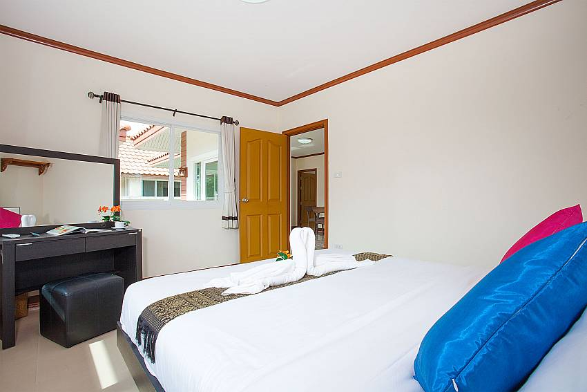 Bedroom Timberland Lanna Villa 305 in Bangsaray Pattaya