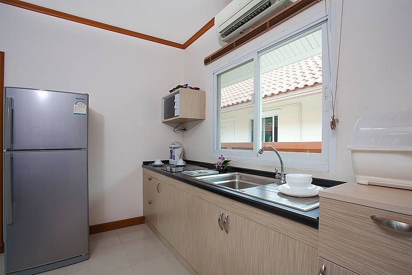 Kitchen Timberland Lanna Villa 306 in Bangsaray Pattaya