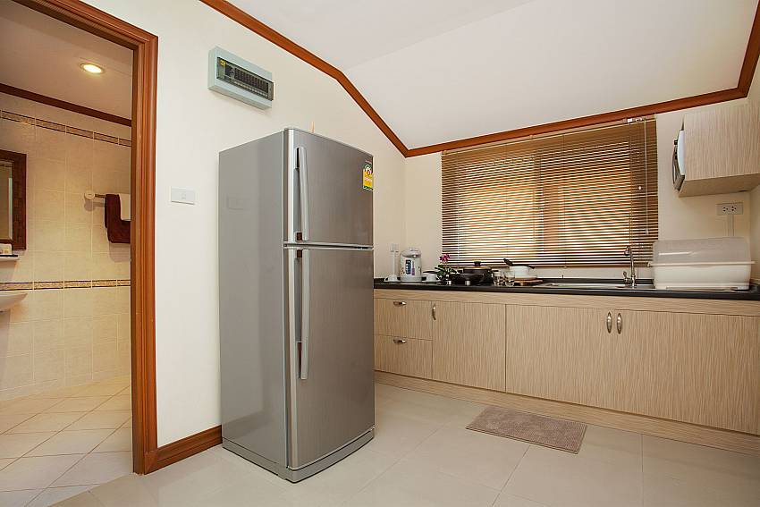 Kitchen Timberland Lanna Villa 401 in Pattaya