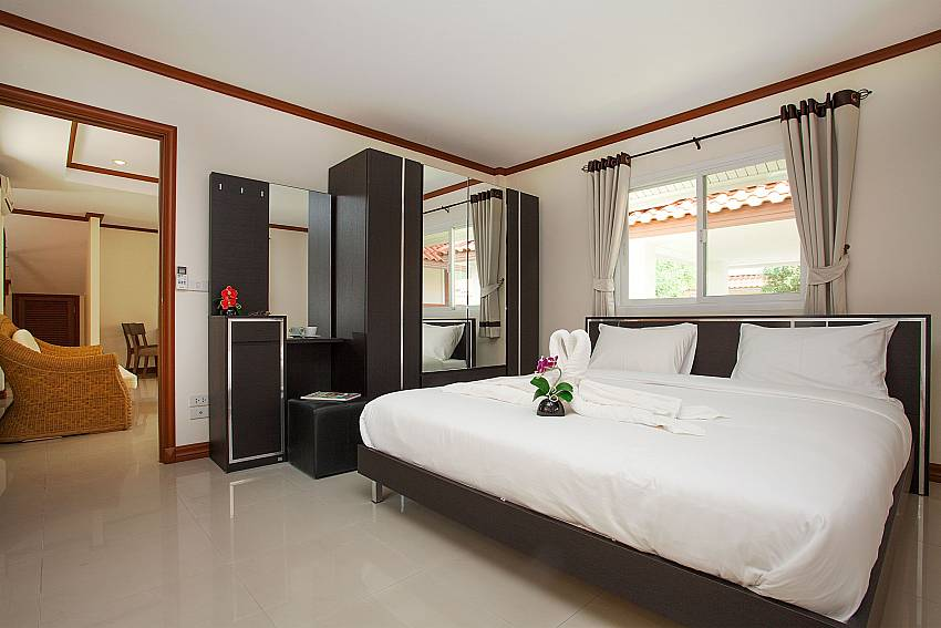 Bedroom Timberland Lanna Villa 401 in Pattaya