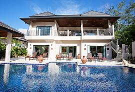 Waew Opal | 6 Bed Serviced Pool Villa in Nai Harn South Phuket